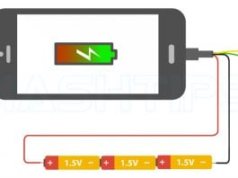 Charge Phone without Electric Power
