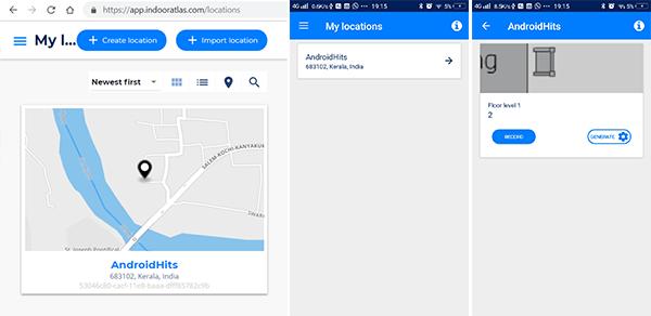 IndoorAtlas MapCreator Android app