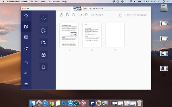 PDFElement Express Open PDF