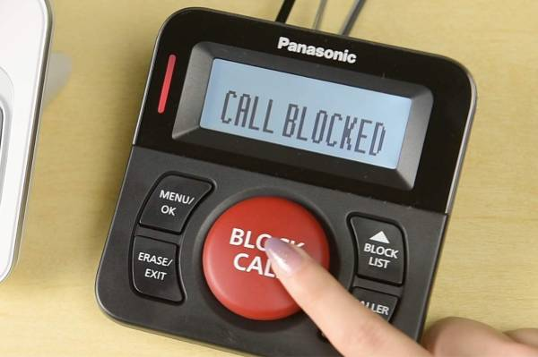 Panasonic Call Blocker for Landline Phones