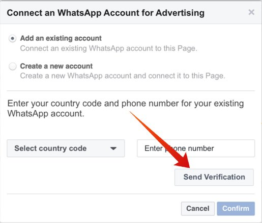 Run a Facebook Ad with WhatsApp Button
