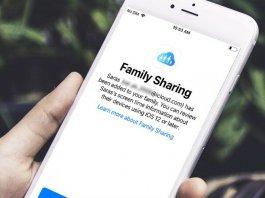 iOS Set up Family Sharing