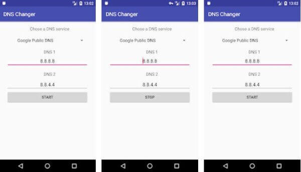 Androdi Data Setting DNS Change