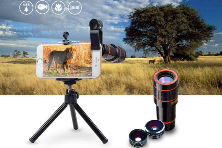Best iPhoen Camera Macro Wide Tele Lens