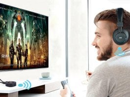 How to connect your wireless headphone to any TV