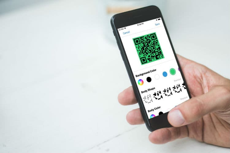 Create QR Code iOS Android