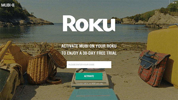 Get Mubi on Roku TV