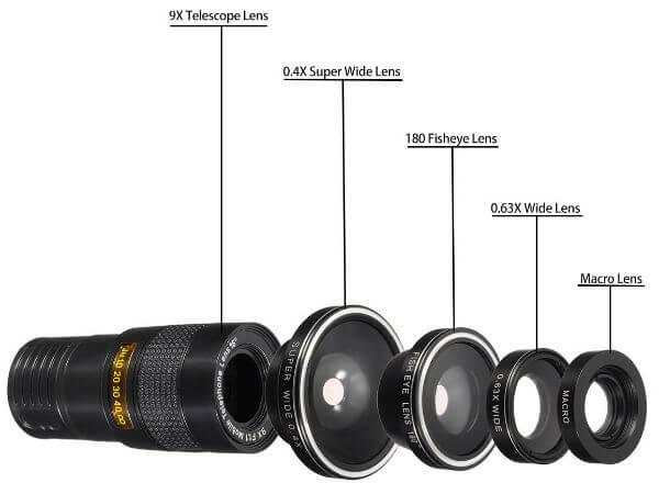 HizekPhone Camera Lens