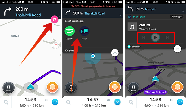 How to Control Music While Navigating on Waze