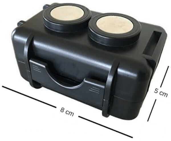 THE MINI ENFORCER Covert Magnetic Tracker Dimensions