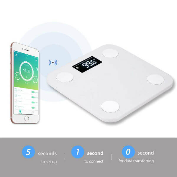 bluetooth body scale