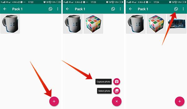 Add Sticker Pack to WhatsApp