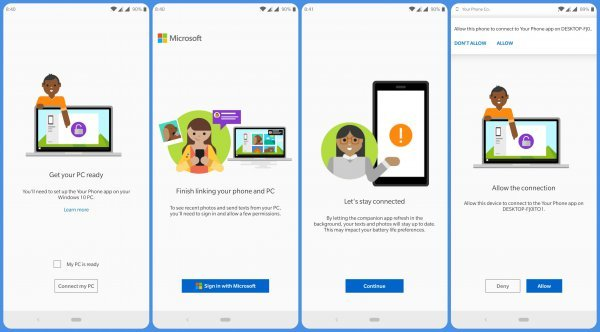 How To Sync 'Your Phone' With Your Windows 10 PC (Android)