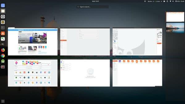 GNOME Linux Desktop Environment