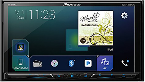 Pioneer AVH-2300NEX Multimedia DVD Receiver