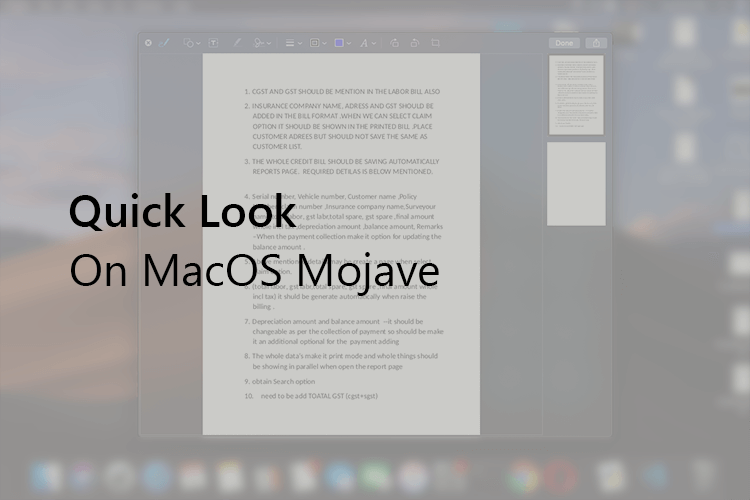 A Complete Guide for Using Quick Look on MacOS | Mashtips