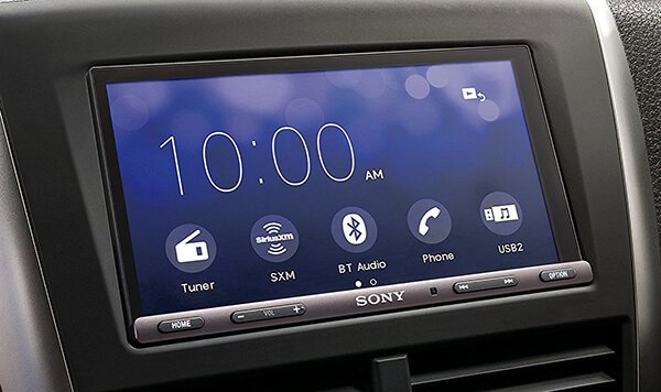 Sony XAV-AX5000 CarPlay Android Auto Media Receiver with BLUETOOTH