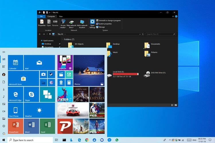 How To Switch Between Windows 10 Dark Theme & Light Theme