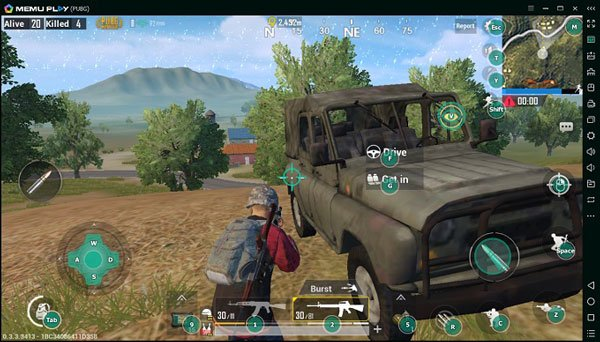 Memu - - best PUBG Mobile emulators