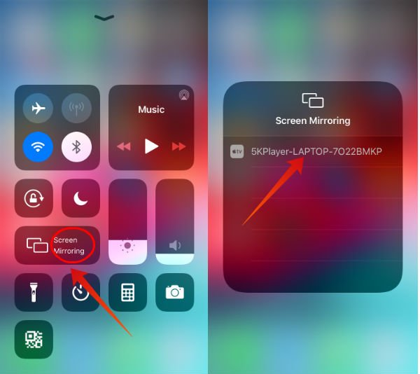iPhone enable airplay