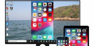 iPhone iPad Screen Mirror Windows 10