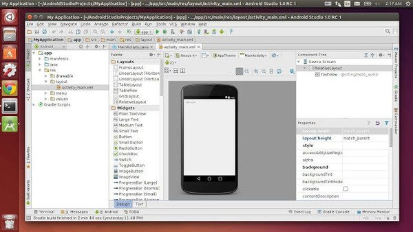 Android Studio as Android Emulator