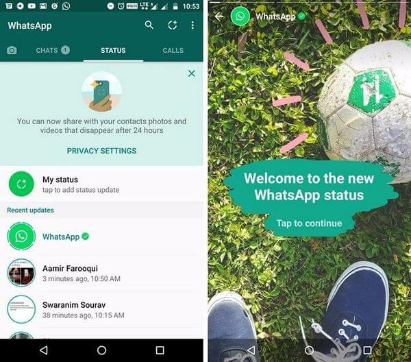 How To Save Whatsapp Status Images And Videos Mashtips