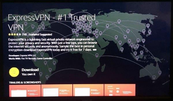 Express VPN for Fire TV