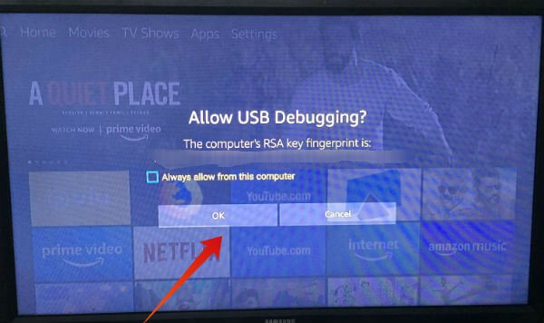 Troubleshooting installation apps on Fire TV Stick