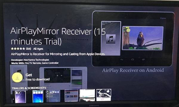 Airplay receiver cast mac to tv