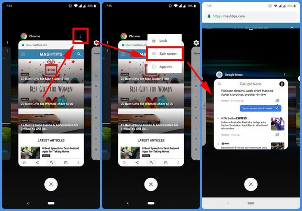enable split screen on oneplus devices running oxygen os
