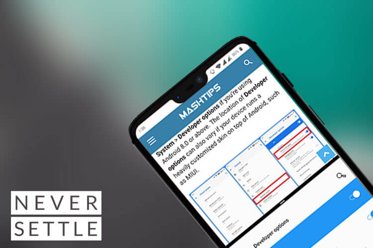 How to Enable Split Screen On OnePlus | Mashtips