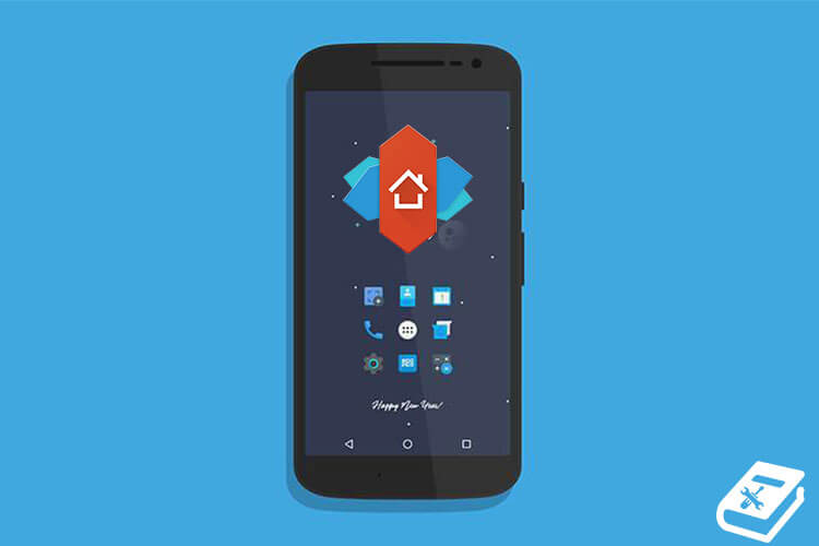 restore backup on Nova launcher