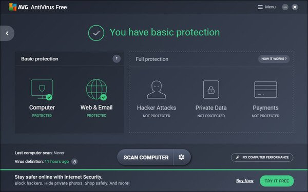 AVG Anti Virus - Malware Removal Tool