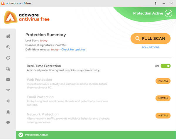 Adaware Antivirus Anti-Malware tool