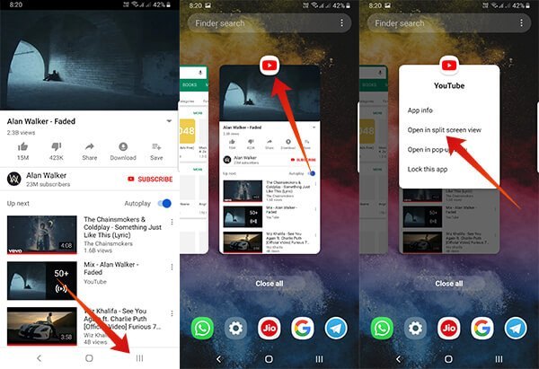 Get-Split-Screen-on-Samsung-Phone