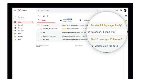 Nudge Option for Gmail
