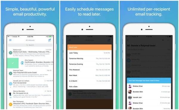 Polymail iOS Email App