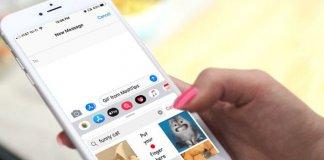 Send GIFs in iMessage