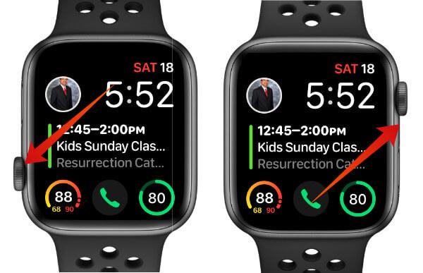 Apple Watch Screen Orientation
