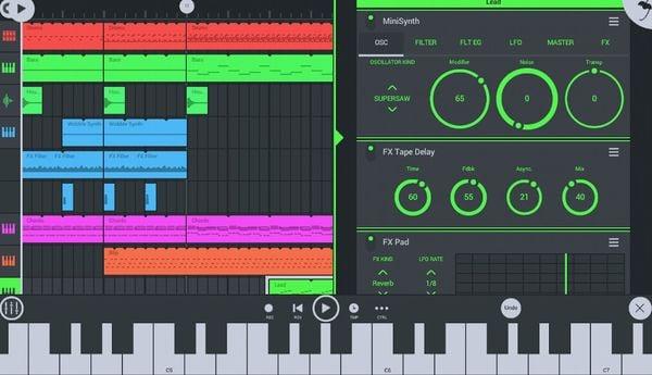 FL Studio Mobile - Best GarageBand Alternative for Android
