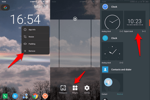 Fix Android Clock Widget Showing Wrong Time Error 6
