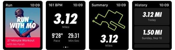 Nike Run Club fitness app for Apple Watch
