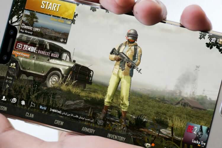 Optimize PUBG Mobile Notched Android