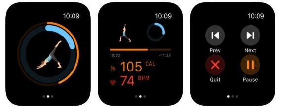 Pocket Yoga app for Apple Watch