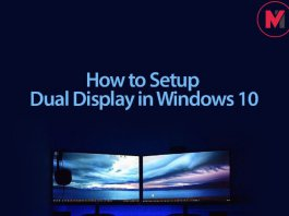 Setup Windows 10 Dual Display