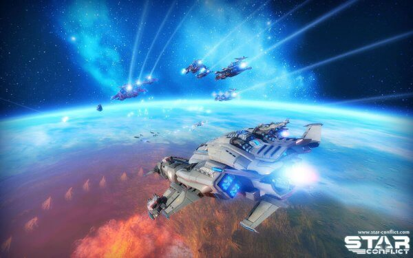 Star Conflict - Best Linux Games