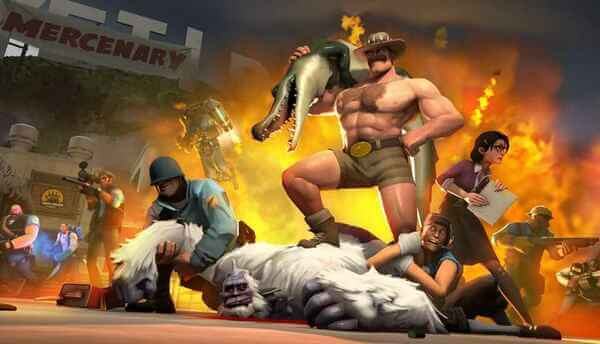 Team Fortress 2 best multiplayer shooter