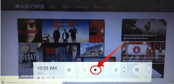 Windows 10 record screen with Gamebar