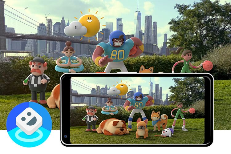 Playground AR sticker trên Google